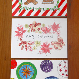Pack of 3 Christmas Cards