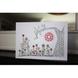 Magic Winter Garden – Greeting Card